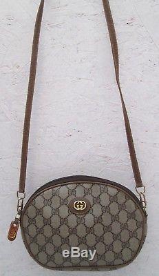 AUTHENTIQUE et joli sac à main vintage GUCCI cuir bag