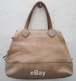 AUTHENTIQUE et superbe sac à main MAX MARA cuir vintage bag à saisir