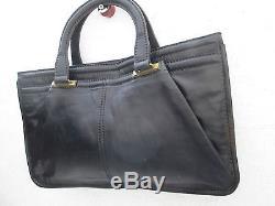 -AUTHENTIQUE grand sac à main MARIANELLI cuir TBEG vintage bag 60's