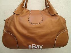 -AUTHENTIQUE grand sac à main vintage FAY cuir TBEG bag