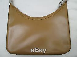 -AUTHENTIQUE (réf 001.3812.002122) sac à main GUCCI cuir (T)BEG vintage 70's