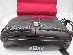 -AUTHENTIQUE (réf BA 1297) sac de voyage PIQUADRO cuir TBEG vintage bag
