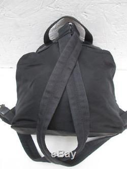 -AUTHENTIQUE sac à dos PRADA toile/cuir TBEG vintage bag