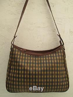 -AUTHENTIQUE sac à main AQUASCUTUM London TBEG bag vintage