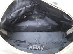 -AUTHENTIQUE sac à main BOTTEGA VENETA toile/cuir TBEG vintage bag
