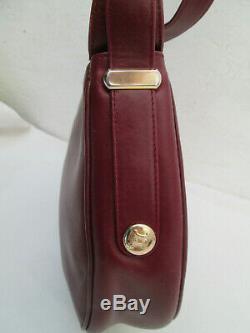 -AUTHENTIQUE sac à main CELINE cuir TBEG vintage bag 60's