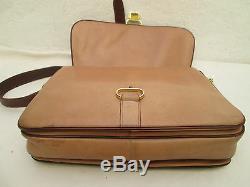 -AUTHENTIQUE sac à main CELINE cuir (T)BEG vintage bag 60's