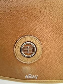 AUTHENTIQUE sac à main EMILIO PUCCI en cuir BEG vintage bag 70's /