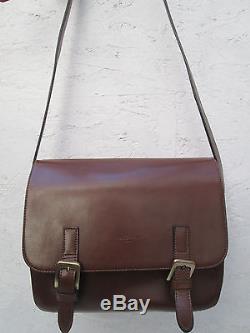 -AUTHENTIQUE sac à main FREDERIC T. Cuir TBEG vintage bag très rare