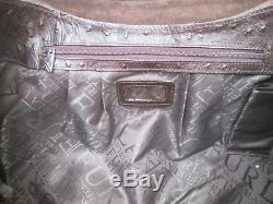 -AUTHENTIQUE sac à main FURLA cuir autruche TBEG bag vintage rare