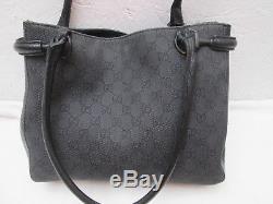 -AUTHENTIQUE sac à main GUCCI toile et cuir TBEG vintage bag