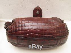 -AUTHENTIQUE sac à main KENZO cuir TBEG vintage bag