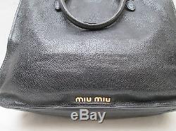 -AUTHENTIQUE sac à main MIU MIU cuir TBEG vintage bag