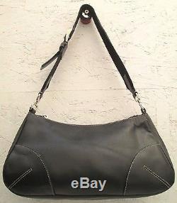AUTHENTIQUE sac à main PRADA cuir TBEG vintage bag