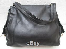 -AUTHENTIQUE sac à main SALVATORE FERRAGAMO cuir TBEG vintage bag