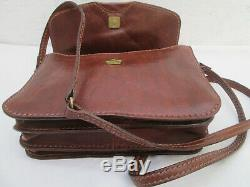 -AUTHENTIQUE sac à main THE BRIDGE cuir TBEG vintage bag