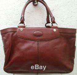 -AUTHENTIQUE sac à main TOD'S cuir d'agneau TBEG vintage bag