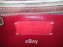 AUTHENTIQUE sac à main VALENTINO GARAVANI cuir (T)BEG bag vintage