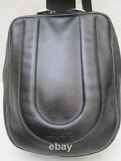 -AUTHENTIQUE sac à main monobretelle UNGARO cuir TBEG vintage bag