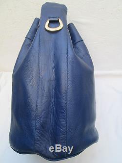 26c5f3aea3 -authentique Sac à Main Type Seau Le Tanneur Cuir Tbeg Vintage Bag