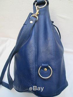 -AUTHENTIQUE sac à main type seau LE TANNEUR cuir TBEG vintage bag