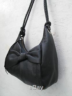 AUTHENTIQUE sac à main vintage ELLIOTT LUCCA cuir (T)BEG bag