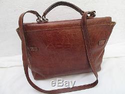 AUTHENTIQUE sac à main vintage FURLA cuir TBEG bag