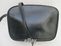 -AUTHENTIQUE sac bandoulière SALVATORE FERRAGAMO cuir TBEG vintage bag