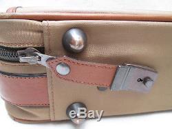 -AUTHENTIQUE sac de voyage/week-end LANCEL toile/cuir TBEG vintage bag