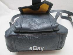 -AUTHENTIQ petit sac bandoulière bleu RALPH LAUREN / RLL cuir TBEG vintage bag