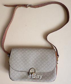 Ancien sac à main CELINE en cuir à bandoulière vintage Céline bag