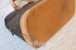 Authentic Sac/ Bag/ Bolsa Louis Vuitton Alma Monogramme Vintage Made In France