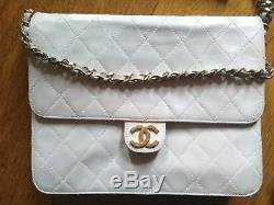Authentique Sac Chanel Timeless Vintage 22x18x7