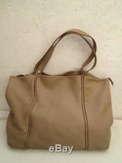 Authentique grand sac à main FURLA cuir vintage bag