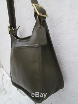 Authentique magnifique sac à main COACH cuir vintage bag
