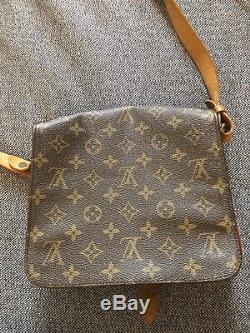 Authentique sac Louis Vuitton Monogram PM Modèle Cartouchière vintage