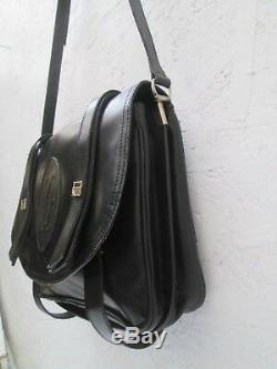 Authentique sac à main CARTIER Paris vintage en cuir bag