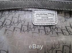 Authentique sac à main DIOR vintage en CUIR vintage bag /