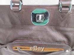 -Authentique sac à main LONGCHAMP Gatsby cuir TBEG vintage bag