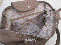 Authentique sac à main LONGCHAMP pliage cuir vintage bag