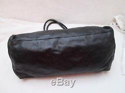 Authentique sac à main MIU MIU noir cuir vintage bag