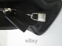 Authentique sac à main PRADA vintage en cuir bag /