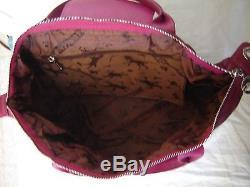 Authentique sac à main en cuir vintage LONGCHAMP à saisir