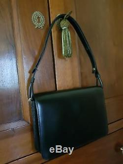 Authentique sac à main noir vintage, Christian DIOR