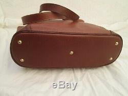 Authentique sac à main vintage LONGCHAMP en cuir bag