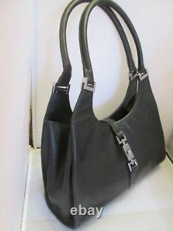Authentique sac à main vintage en cuir GUCCI bag à saisir /