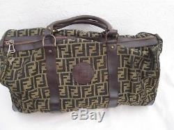 Authentique sac bowling week-end vintage FENDI bag à saisir