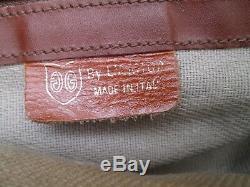 Authentique sac de voyages week-end en cuir VINTAGE bag à saisir