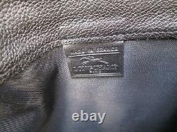 Authentique sac sacoche homme LONGCHAMP en cuir grainé bag à saisir /