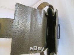 CELINE authentique petit sac à main Paris cuir vintage bag